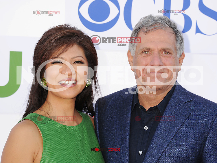 BEVERLY HILLS, CA - JULY 29: Julie Chen and Les Moonves arrive at the CBS, Showtime and The CW 2012 TCA summer tour party at 9900 Wilshire Blvd on July 29, 2012 in Beverly Hills, California. /NortePhoto.com<br /> <br />  **CREDITO*OBLIGATORIO** *No*Venta*A*Terceros*<br /> *No*Sale*So*third* ***No*Se*Permite*Hacer Archivo***No*Sale*So*third*