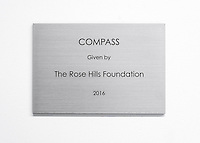 Compass given by Rose Hills Foundation<br />