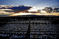 Sept. 19, 2009; Provo, UT, USA; General view of the parking lot of LaVell Edwards Stadium during the game between the BYU Cougars against the Florida State Seminoles.. Florida State defeated BYU 54-28. Mandatory Credit: Mark J. Rebilas-