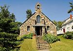 Ocean Point, East Boothbay, ME. Wilson Memorial Chapel.