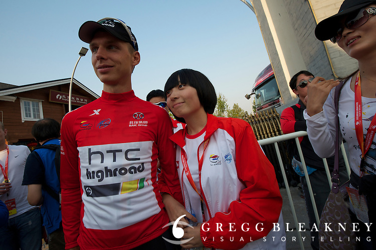 Look who just got big in China.  z2011 Tour of Beijing Stage 2