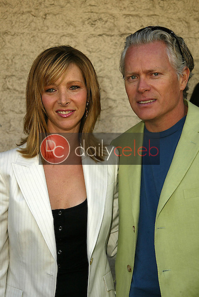 """Lisa Kudrow and Michel Stern<br /> at the Los Angeles Premiere of """"Happy Endings"""" at Mann National Theater, Westwood, CA 06-26-05<br /> David Edwards/DailyCeleb.Com 818-249-4998"""