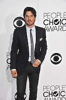 Ian Somerhalder at the 2014 People's Choice Awards at the Nokia Theatre, LA Live.<br /> January 8, 2014  Los Angeles, CA<br /> Picture: Paul Smith / Featureflash