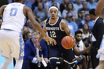 28 December 2016: Monmouth's Justin Robinson. The University of North Carolina Tar Heels hosted the Monmouth University Hawks at the Dean E. Smith Center in Chapel Hill, North Carolina in a 2016-17 NCAA Division I Men's Basketball game. UNC won the game 102-74.