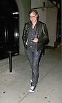 April 25th 2012 ..Bob Saget & a female companion dine at Craig's in West Hollywood.JEFF ROSS...AbilityFilms@yahoo.com.805-427-3519.www.AbilityFilms.com