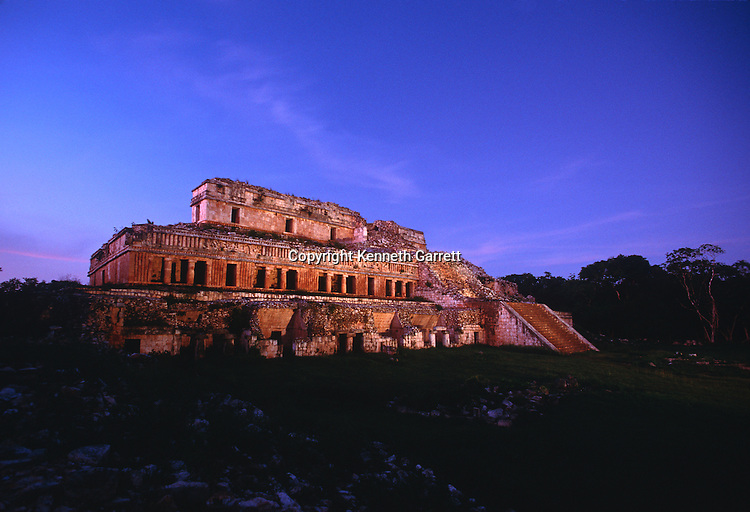 Maya; Mexico, Ruta Maya, Sayil, Yucatan