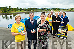 On Monday at Tralee Bay Wetlands the launch of the Recovery Haven Tralee launches the Celebration of Light 209 for August 22nd 20 9, Front L-r: Maureen O'Brien Recovvery Haven) Anthony O'Gara (Rose of Tralee) and Marissa Reidy (Recovery haven) Back Kathleen Collins (REcovvery Haven) Willie Keane (Chairpers Kerry Coral ) Mary O'Connor (Tralee Bay Wetlands), Dermot Crowley and Philomena Satack (Recovery Haven)
