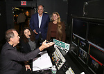 Director David Horn, Stewart F. Lane and Bonnie Comley Behind the Scenes with BroadwayHD: A Digital Capture of  Roundabout Theatre Company's 'If I Forget' at Laura Pels Theatre on 4/28/2017 in New York City.