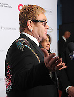 NEW YORK, NY - NOVEMBER 02: Elton John attends 15th Annual Elton John AIDS Foundation An Enduring Vision Benefit at Cipriani Wall Street on November 2, 2016 in New York City.Photo by John Palmer/ MediaPunch