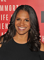 NEW YORK, NY - April 18: Audra McDonald attend 'The Immortal Life of Henrietta Lacks' premiere at SVA Theater on April 18, 2017 in New York City. <br /> CAP/MPI/JP<br /> &copy;JP/MPI/Capital Pictures