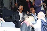 Tenis player Rafael Nadal during 2014-15 La Liga match between Real Madrid and Valencia at Santiago Bernabeu stadium in Madrid, Spain. May 09, 2015. (ALTERPHOTOS/Luis Fernandez)