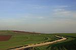 Israel, Issachar Heights. Givat Hamore-Ramot Issachar scenic road