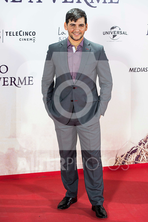 "Fran Perea during the premiere of the spanish film ""Un Monstruo Viene a Verme"" of J.A. Bayona at Teatro Real in Madrid. September 26, 2016. (ALTERPHOTOS/Borja B.Hojas)"