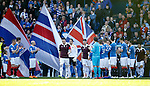 Rangers form a guard of honour for Hearts