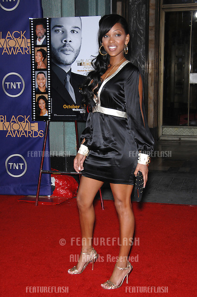 MEAGAN GOOD at the 2nd Annual Black Movie Awards in Los Angeles..October 15, 2006  Los Angeles, CA.Picture: Paul Smith / Featureflash