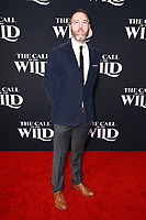 HOLLYWOOD, CA - FEBRUARY 13; David Heinz at The Call Of The Wild World Premiere on February 13, 2020 at El Capitan Theater in Hollywood, California. Credit: Tony Forte/MediaPunch