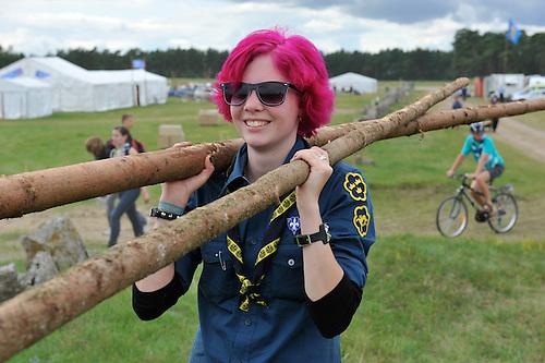 26 juillet 2011, 22e?me Jamboree Scout Mondial a? Rinkaby, Kristianstad, Sue?de, Photo © Jean-Pierre POUTEAU 2011