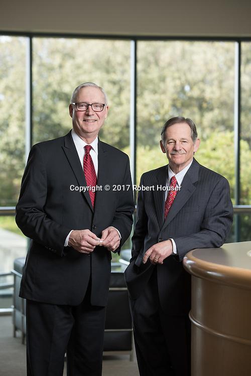 Portrait of John Goetz - COO and Norman Schwartz - CEO - BioRad