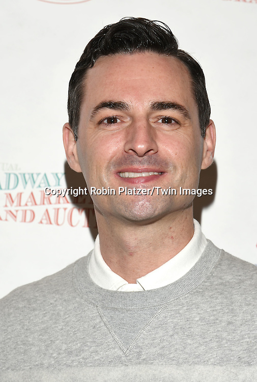 Max von Essen attends the Broadway Cares/Equity Fights Aids Flea Market and Grand Auction on September 25, 2016 at the Music Box Theatre and in Shubert Ally in New York, New York, USA. <br /> <br /> photo by Robin Platzer/Twin Images<br />  <br /> phone number 212-935-0770