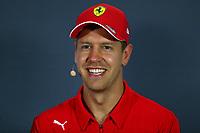 #05 Sebastian Vettel, Scuderia Ferrari. Italian GP, Monza 5-8 September 2019<br /> Monza 05/09/2019 GP Italia <br /> Formula 1 Championship 2019 <br /> Foto Federico Basile / Insidefoto