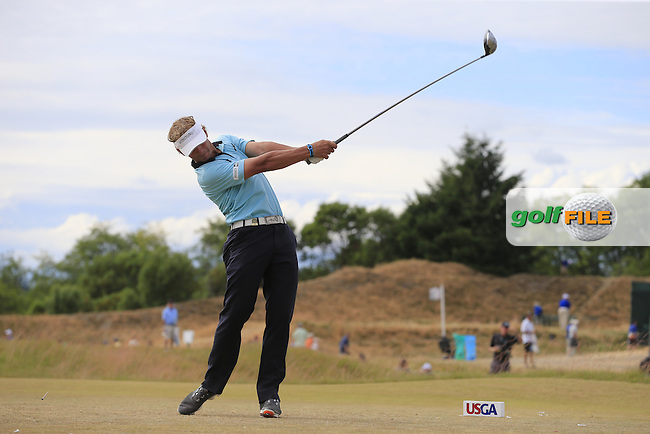 Joost LUITEN (NED) tees off the 4th tee during Thursday's Round 1 of the 2015 U.S. Open 115th National Championship held at Chambers Bay, Seattle, Washington, USA. 6/19/2015.<br /> Picture: Golffile | Eoin Clarke<br /> <br /> <br /> <br /> <br /> All photo usage must carry mandatory copyright credit (&copy; Golffile | Eoin Clarke)