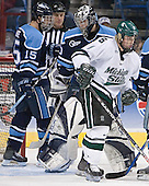 (Greg Moore, Ben Bishop) Bryan Lerg - The University of Maine Black Bears defeated the Michigan State University Spartans 5-4 on Sunday, March 26, 2006, in the NCAA East Regional Final at the Pepsi Arena in Albany, New York.