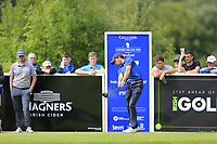 Reinier Saxton (NED) tees off the 17th tee during Sunday's Final Round of the Northern Ireland Open 2018 presented by Modest Golf held at Galgorm Castle Golf Club, Ballymena, Northern Ireland. 19th August 2018.<br /> Picture: Eoin Clarke | Golffile<br /> <br /> <br /> All photos usage must carry mandatory copyright credit (&copy; Golffile | Eoin Clarke)
