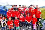Sneem crews and supporters at the Waterville regatta on Sunday.