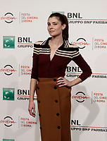 L'attrice italiana Vittoria Puccini posa durante un photocall per la presentazione del film &quot;The place&quot; alla Festa del Cinema di Roma, 4 novembre 2017.<br /> Italian actress Vittoria Puccini poses for a photocall to present the movie &quot;The place&quot; during the international Rome Film Festival at Rome's Auditorium, .<br /> UPDATE IMAGES PRESS/Isabella Bonotto