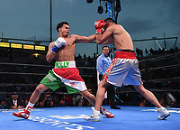 "CARSON, CA- APRIL 20: ROLANDO ROMERO vs ANDRES FIGUEROA during the Fox Sports ""PBC on Fox"" Fight Night at Dignity Health Sports Park on April 20, 2019 in Carson, California. (Photo by Frank Micelotta/Fox Sports/PictureGroup)"