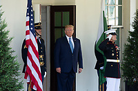 JUL 22 President Donald Trump Greets Prime Minister Imran Khan at the White House