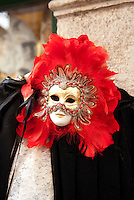 The first documented usage of Venetian masks was in conjunction with the 1268 celebration of Doge Vitale Michieli's triumph over Ulrich II of Treven. Later Venetian Masks became the signature of the Commedia Dell'arte, a form of improvisational theater during the 16th through 18th centuries that were performed by traveling theater companies producing comedies involving the topics of adultery, jealousy, and love. The tradition of mask making was rekindled in 1979 when a group of art students revived the tradition. In less than 30 years the artisan masks and Venice are once again synonymous.