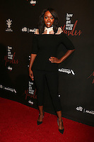 Aja Naomi King<br /> at the &quot;How To Get Away With Murder&quot; Season 3 Premiere Screening, Pacific Theater at The Grove, Los Angeles, CA 09-20-16<br /> David Edwards/DailyCeleb.com 818-249-4998
