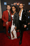 Michael Graceffa, Tiana Okoye, Blaine Alden Krauss Attends the After Party for the Broadway Opening Night  of 'The Cher Show' at Pier 60 on December 3, 2018 in New York City.
