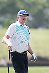 Boris Becker plays during the World Celebrity Pro-Am 2016 Mission Hills China Golf Tournament on 23 October 2016, in Haikou, Hainan province, China. Photo by Weixiang Lim / Power Sport Images
