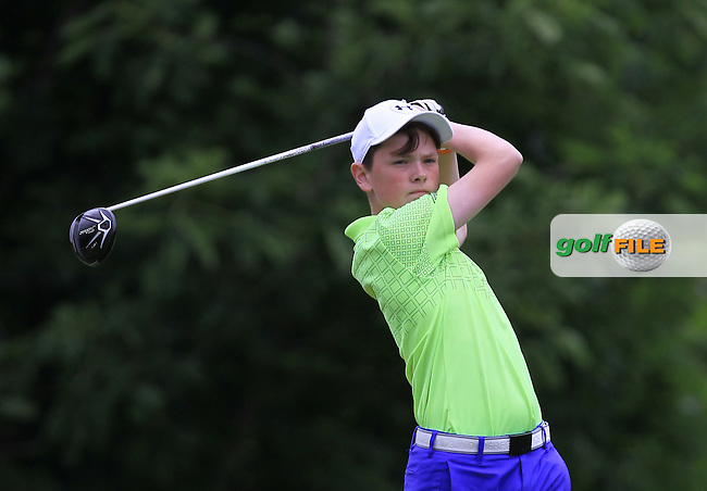 Ben Hynes (Greystones) on the 16th tee during Round 1 of the 2016 Leinster Boys Amateur Open Championship at Mullingar Golf Club on Tuesday 21st June 2016.<br /> Picture:  Golffile   Thos Caffrey