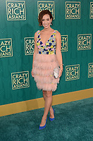 HOLLYWOOD, CA - AUGUST 7: Liv Lo at the premiere of Crazy Rich Asians at the TCL Chinese Theater in Hollywood, California on August 7, 2018. <br /> CAP/MPI/DE<br /> &copy;DE//MPI/Capital Pictures