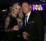 Aime and Bryan Landaburu during the 10th Annual Blue Tie Ball at the Peppermill Resort Spa Casino in Reno, NV on Friday night, Feb. 1, 2019.