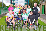 NA GAEIL: Enjoying the Na Gaeil GAA fundraising family cycle at the Na Gaeil clubhouse, Tralee on Saturday front l-r:John McAdams, Brian O'Shea and Adrienne O'Halloran. Back l-r: Morna O'Halloran, Gerry Lee, Paddy O'Shea, Eileen McCormack, Sheila Kelly, Noreen Coffey and Michael Horgan.