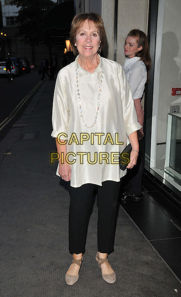 Penelope Wilton attends the Downton Abbey Wrap Party, The Ivy Club, West Street, London, England, UK, on Saturday 15 August 2015. <br /> CAP/CAN<br /> &copy;Can Nguyen/Capital Pictures