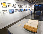 A book with handwritten chess ratings is on display at the World Chess Hall of Fame in St. Louis where a new chess history exhibition, US Chess: 80 Years—Promoting the Royal Game in America, opened with a free opening reception event on March 6, 2019. The chess exhibit will be on display through October 27, 2019. <br /> (Tim Vizer/AP Images for  World Chess Hall of Fame)