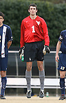 02 December 2007: West Virginia's Zach Johnson. The Wake Forest University Demon Deacons defeated the West Virginia University Mountaineers 3-1 at W. Dennie Spry Soccer Stadium in Winston-Salem, North Carolina in a Third Round NCAA Division I Mens Soccer Tournament game.