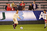 14 November 2008: Boston College's Shawn Chin (11). The University of Maryland defeated Boston College 1-0 at WakeMed Stadium at WakeMed Soccer Park in Cary, NC in a men's ACC tournament semifinal game.