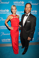 NEW YORK, NY - NOVEMBER 27: Hilary Gumbel and Bryant Gumbel at the Unicef SnowFlake Ball at Cipriani 42nd Street on November 27, 2012 in New York City. © Diego Corredor/MediaPunch Inc. .. /NortePhoto