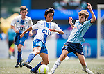 HKFC Citibank Juniors Soccers Sevens during day two of the HKFC Citibank Soccer Sevens 2015 on May 30, 2015 at the Hong Kong Football Club in Hong Kong, China. Photo by Xaume Olleros / Power Sport Images