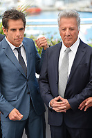 Ben Stiller &amp; Dustin Hoffman at the photocall for &quot;The Meyerowitz Stories&quot; at the 70th Festival de Cannes, Cannes, France. 21 May 2017<br /> Picture: Paul Smith/Featureflash/SilverHub 0208 004 5359 sales@silverhubmedia.com