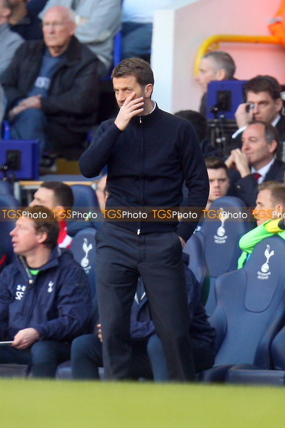 Tottenham Hotspur manager Tim Sherwood - Tottenham Hotspur vs Arsenal, Barclays Premier League Football at the White Hart Lane Stadium - 16/03/14 - MANDATORY CREDIT: Dave Simpson/TGSPHOTO - Self billing applies where appropriate - 0845 094 6026 - contact@tgsphoto.co.uk - NO UNPAID USE