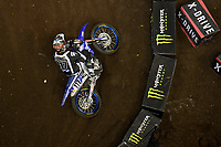 SX1 / Dylan Long<br /> Monster Energy Aus-XOpen<br /> Supercross & FMX International<br /> Qudos Bank Arena, Olympic Park NSW<br /> Sydney AUS Sunday 12  November 2017. <br /> © Sport the library / Jeff Crow
