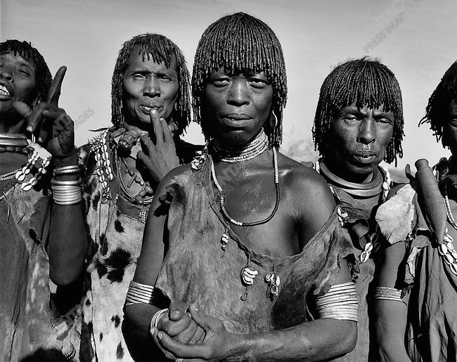 Hamar tribe, Omo Valley, southern Ethiopia, 2003-2004