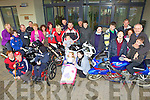 Getting ready for their Annual Poker Run was The Nano Nagle school, pictured here for the launch last Tuesday in Listowel with local bikers and staff members.